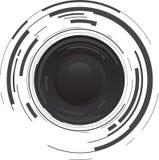 Tecla brilhante abstrata Imagem de Stock