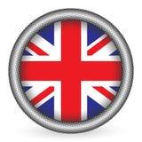 Tecla BRITÂNICA da bandeira Foto de Stock