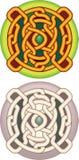 Tecla com celtic um teste padrão ilustração royalty free