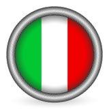 Tecla da bandeira de Italy Fotos de Stock