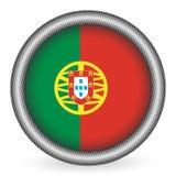 Tecla da bandeira de Portugal Fotos de Stock Royalty Free