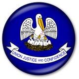 Tecla da bandeira do estado de Louisiana ilustração stock