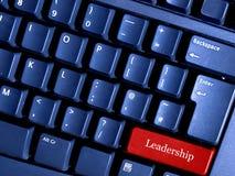 Tecla da liderança Imagens de Stock