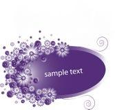 Tecla das flores Imagens de Stock Royalty Free