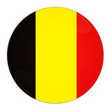 Tecla de Bélgica com bandeira Fotos de Stock