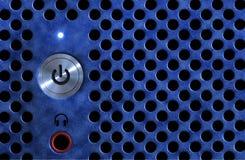 Tecla de ligar/desligar do computador Foto de Stock