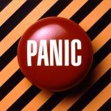 Tecla de pânico Foto de Stock Royalty Free