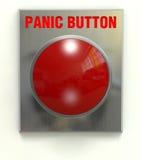 Tecla de pânico Foto de Stock