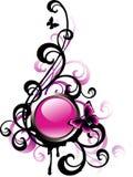 Tecla decorativa Imagem de Stock