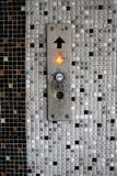 Tecla do elevador Fotografia de Stock