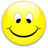 Tecla do sorriso Fotografia de Stock Royalty Free