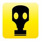 Tecla do Web da máscara de gás ilustração royalty free