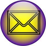 Tecla do Web do email ilustração royalty free