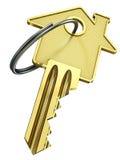 Tecla HOME - concepto de las propiedades inmobiliarias Fotografía de archivo libre de regalías