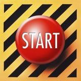 Tecla 'Iniciar Cópias' Imagem de Stock