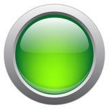 Tecla lustrosa do vetor para aplicações web Imagens de Stock Royalty Free