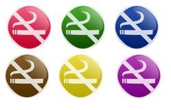 Tecla não fumadores lustrosa Fotografia de Stock Royalty Free