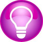 Tecla roxa do bulbo ilustração stock