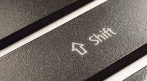 Tecla Shift imagem de stock