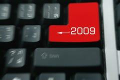 Teclado 2009 Fotos de archivo libres de regalías