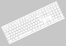 Teclado Royalty Free Stock Photos