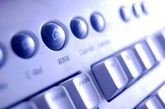 Teclado, botón de WWW Fotografía de archivo libre de regalías