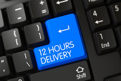 Teclado con el botón azul - 12 horas de entrega Imagen de archivo