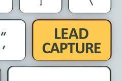 Teclado con el botón de la captura de la ventaja Teclado blanco del ordenador con imagen de archivo