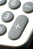 Teclado da calculadora Foto de Stock