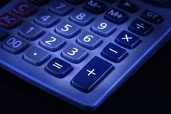 Teclado da calculadora de Desktop Fotos de Stock
