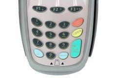 Teclado da máquina do crédito Imagem de Stock Royalty Free