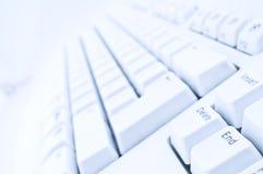 Teclado de computador Fotografia de Stock