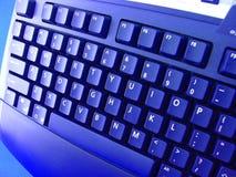 Teclado de computador Imagens de Stock