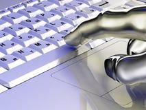 Teclado de la computadora portátil libre illustration