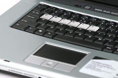 Teclado del ordenador portátil fotografía de archivo libre de regalías