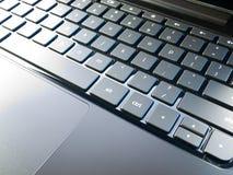 Teclado de la computadora portátil Foto de archivo