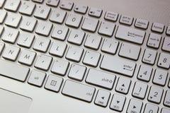 Teclado de ordenador Foto de archivo libre de regalías