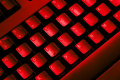 Teclado de ordenador. fotografía de archivo libre de regalías