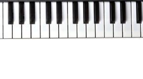 Teclado de piano Foto de archivo