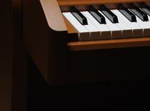 Teclado de piano Fotografia de Stock Royalty Free