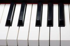 Teclado de piano Fotos de archivo libres de regalías