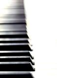 Teclado de piano imagem de stock royalty free