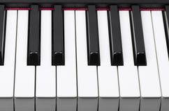 Teclado de piano Imagens de Stock Royalty Free