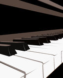 Teclado de piano libre illustration