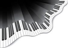 Teclado de piano abstrato Ilustração do Vetor