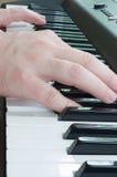 Teclado de piano Imagen de archivo