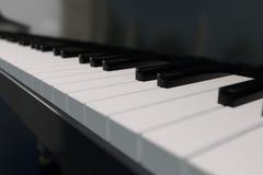 teclado de piano de la representación 3D Fotos de archivo