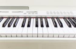 Teclado de piano electrónico Foto de archivo