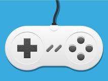 Teclado de um console dos jogos ilustração royalty free