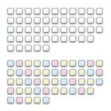 Teclado del alfabeto Imagenes de archivo